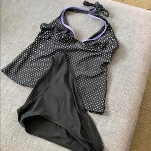 Two piece halter bikini